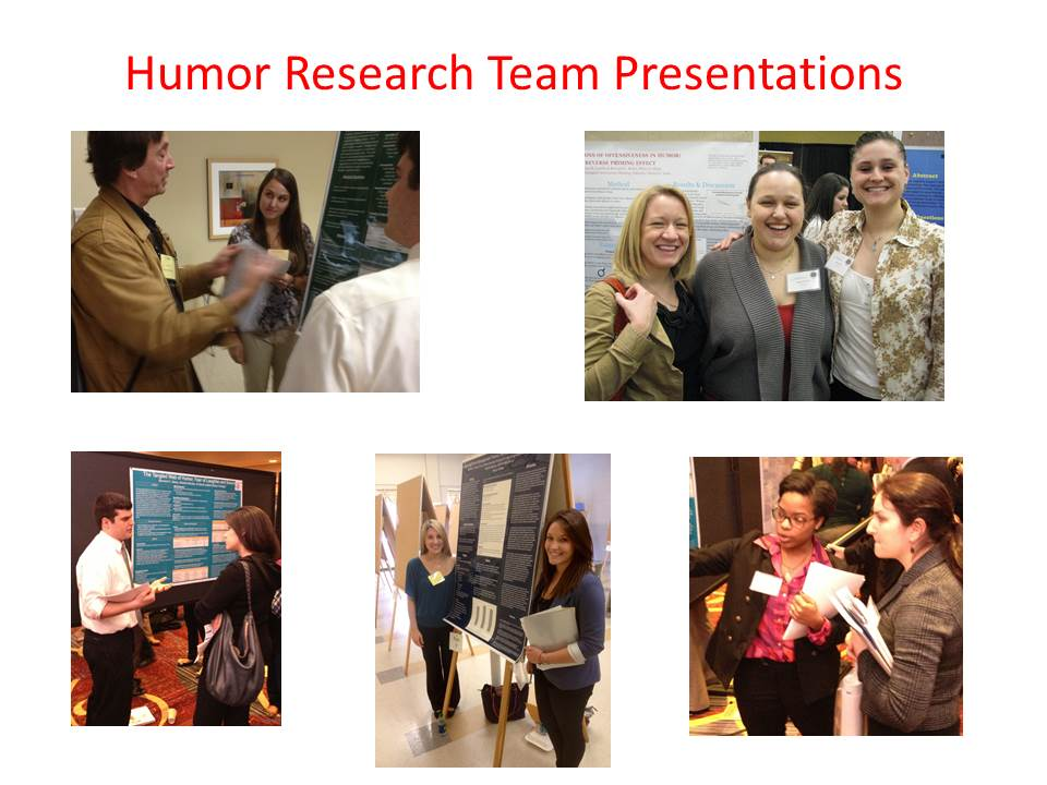 Research Team Presentations